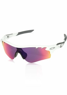 Oakley Men's Radarlock Path OO9181-40 Shield Sunglasses Polished Black 132 mm