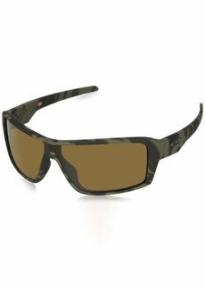 Oakley Men's Ridgeline Polarized Iridium Rectangular Sunglasses MATTE OLIVE CAMO 0 mm