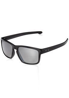 Oakley Men's Sliver (a) Polarized Iridium Rectangular Sunglasses