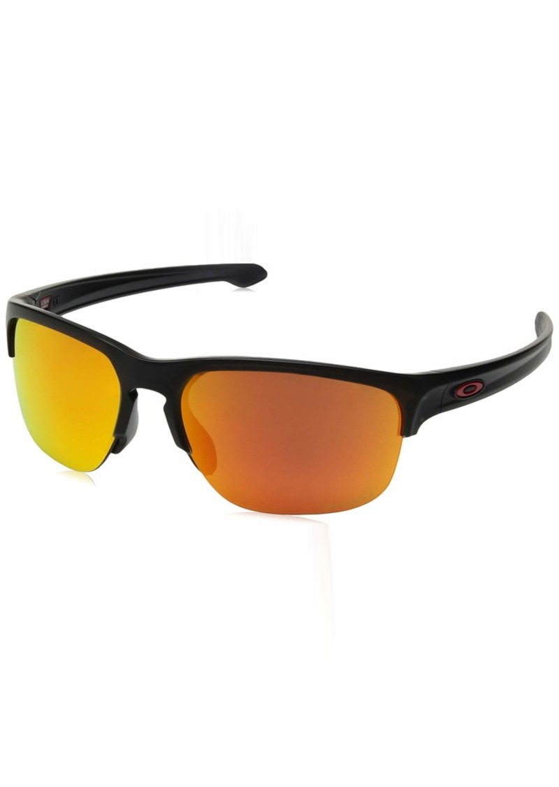 Oakley Men's Sliver Edge Non-Polarized Iridium Square Sunglasses  64.8 mm