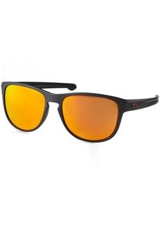 Oakley Men's Sliver R Non-Polarized Iridium Rectangular Sunglasses