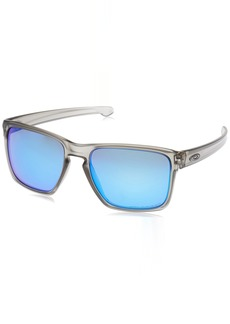 Oakley Men's Sliver Xl Non-Polarized Iridium Rectangular Sunglasses Ruby Fade 57 mm
