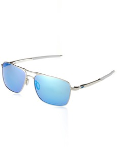 Oakley Men's Titanium Man Sunglass Square