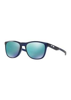 Oakley Men's Trillbe X Non-Polarized Iridium Rectangular Sunglasses  52 mm