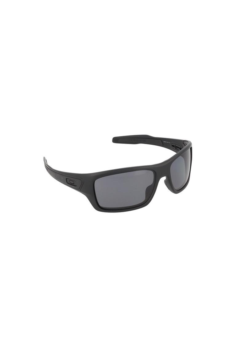 Oakley Men's Turbine OO9263-07 Polarized Rectangular Sunglasses