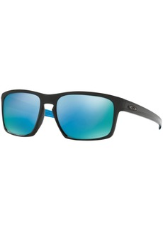 Oakley Polarized Sliver Prizm Deep Water Sunglasses, OO9262 57