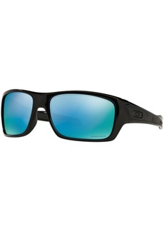 Oakley Polarized Sunglasses, OO9263 Turbine Prizm Deep H2O
