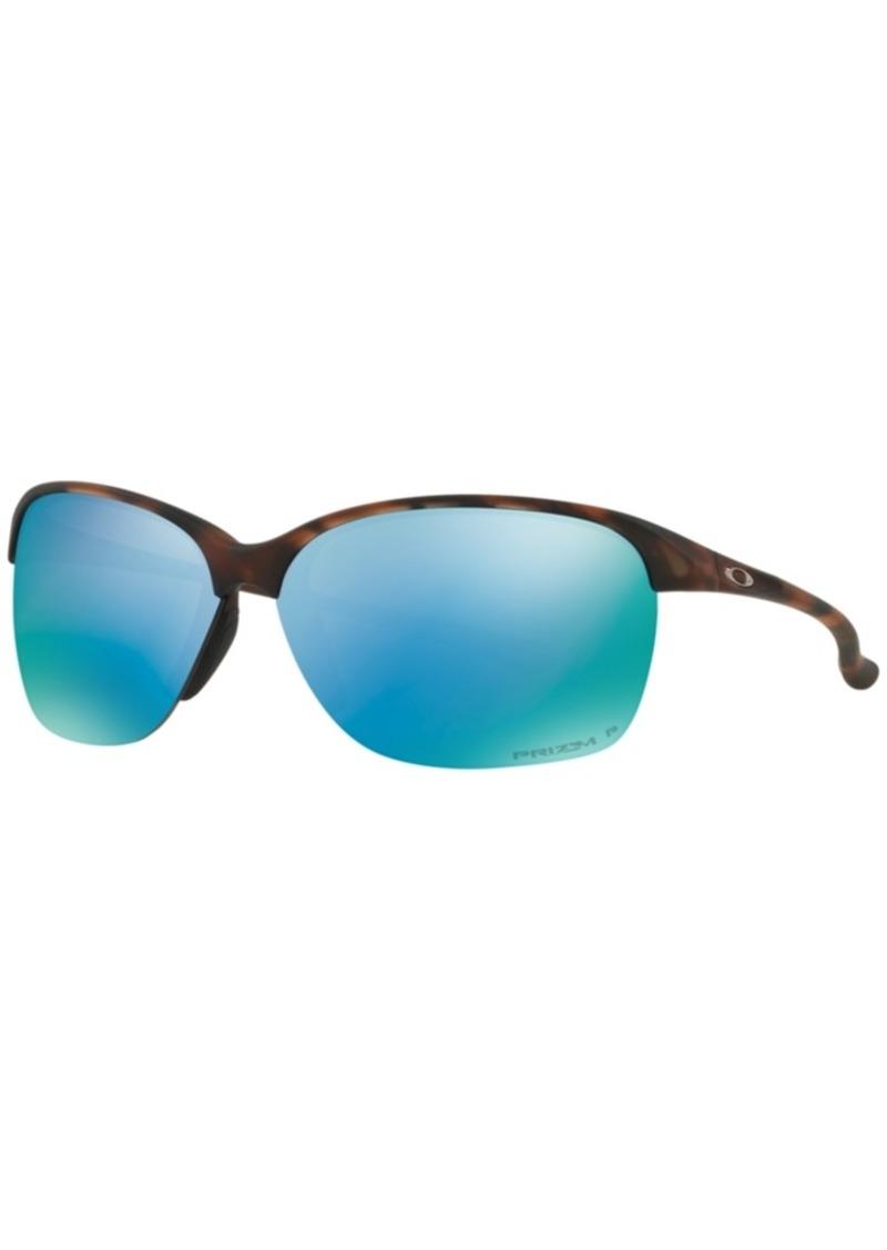 Oakley Polarized Sunglasses, Unstoppable OO9191