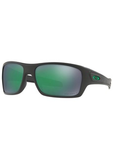 Oakley Polarized Turbine Prizm Sunglasses, 0OO9263-45
