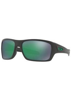 Oakley Polarized Turbine Prizm Polarized Sunglasses, 0OO9263-45