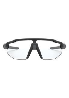 Oakley Radar® EV Advancer 138mm Polarized Photochromic Shield Wrap Sunglasses