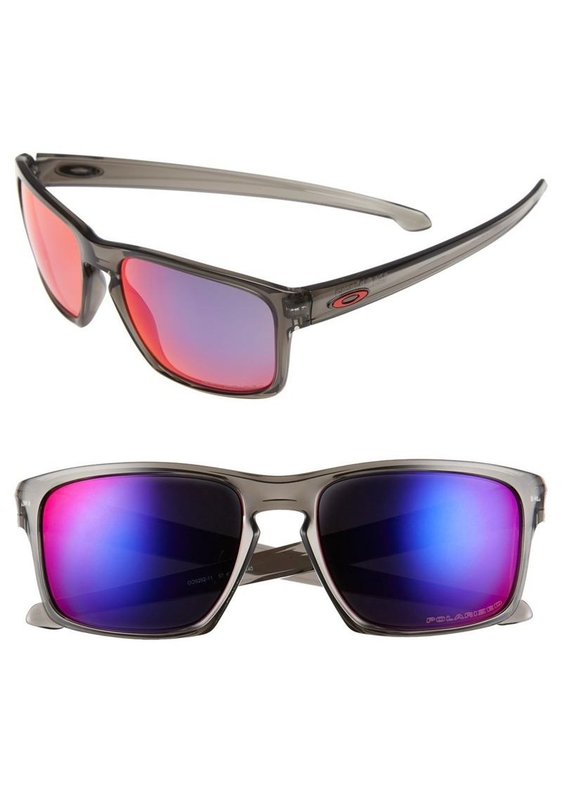 Oakley 'Silver' 57mm Polarized Sunglasses