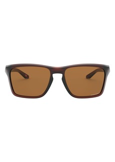 Oakley Sylas 57mm Rectangular Sunglasses