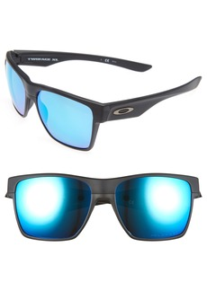 Oakley Twoface XL 59mm Polarized Sunglasses