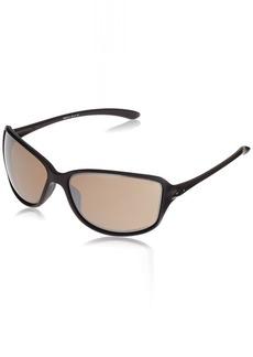 d406c41bd6 Oakley Women s Cohort Polarized Iridium Rectangular Sunglasses MATTE BLACK  61 mm