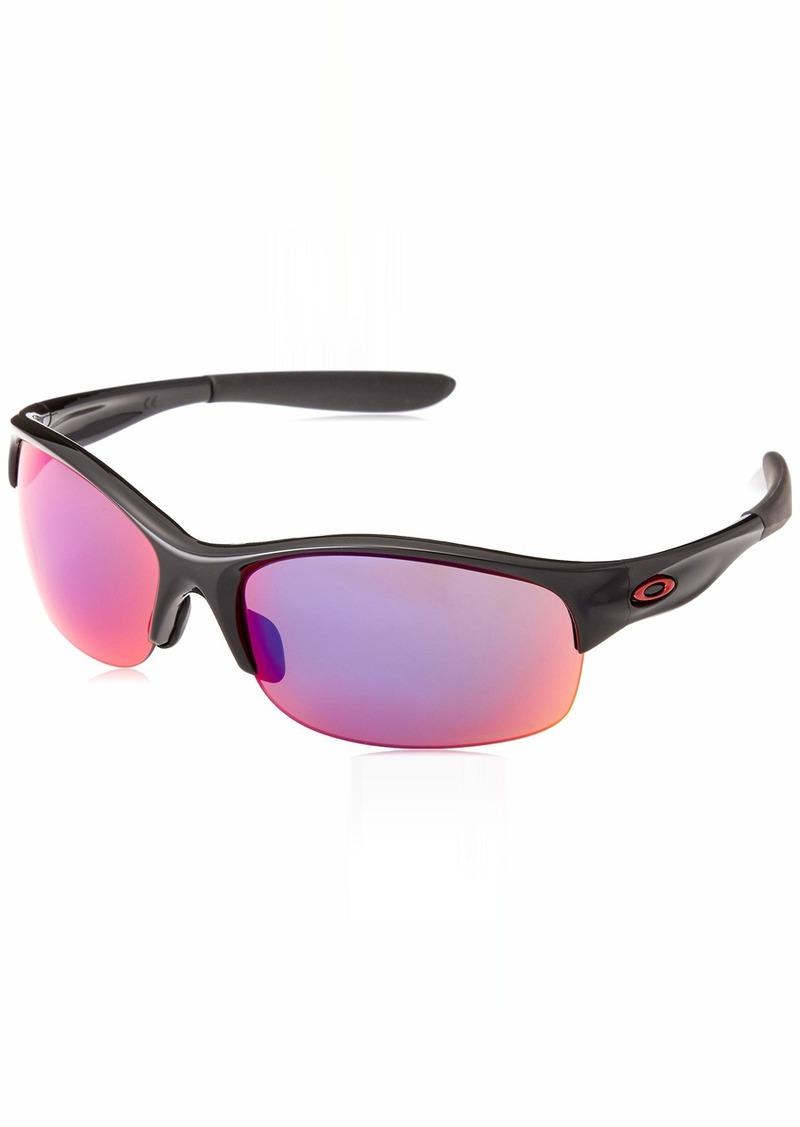 Oakley Women's Commit Squared Non-Polarized Iridium Cateye Sunglasses POLISHED BLACK 62 mm