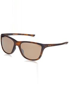 Oakley Women's Reverie Square Sunglasses MATTE BROWN TORTOISE 55 mm