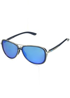 Oakley Women's Split Time Polarized Aviator Sunglasses