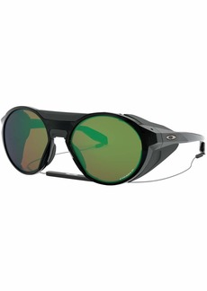 Oakley OO9440 Clifden Round Sunglasses Black Ink/Prizm Shallow h2o Polarized 56 mm