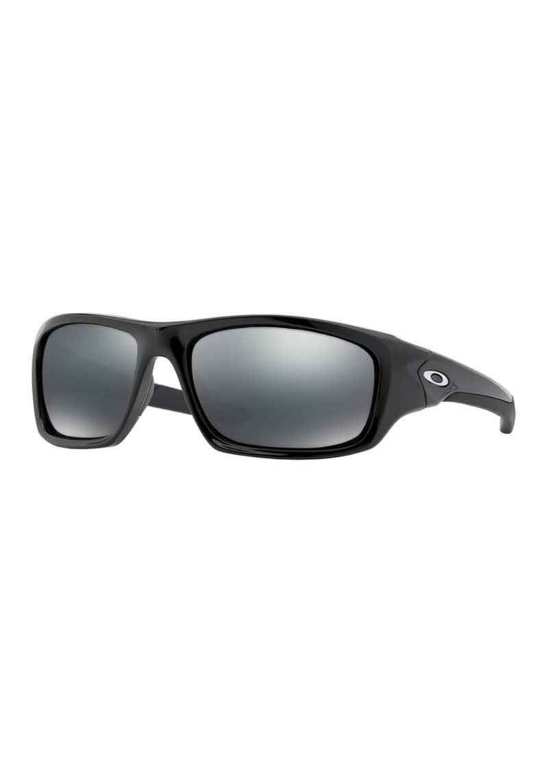 Oakley Rectangular Flash-Lense Sunglasses