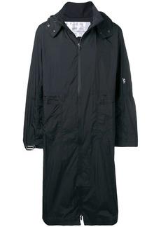 Oakley zipped hooded coat