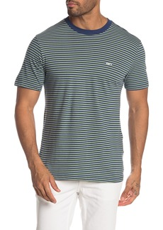 Obey Apex Striped Crew Tee
