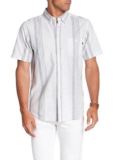 Obey Baron Stripe Woven Slim Fit Shirt