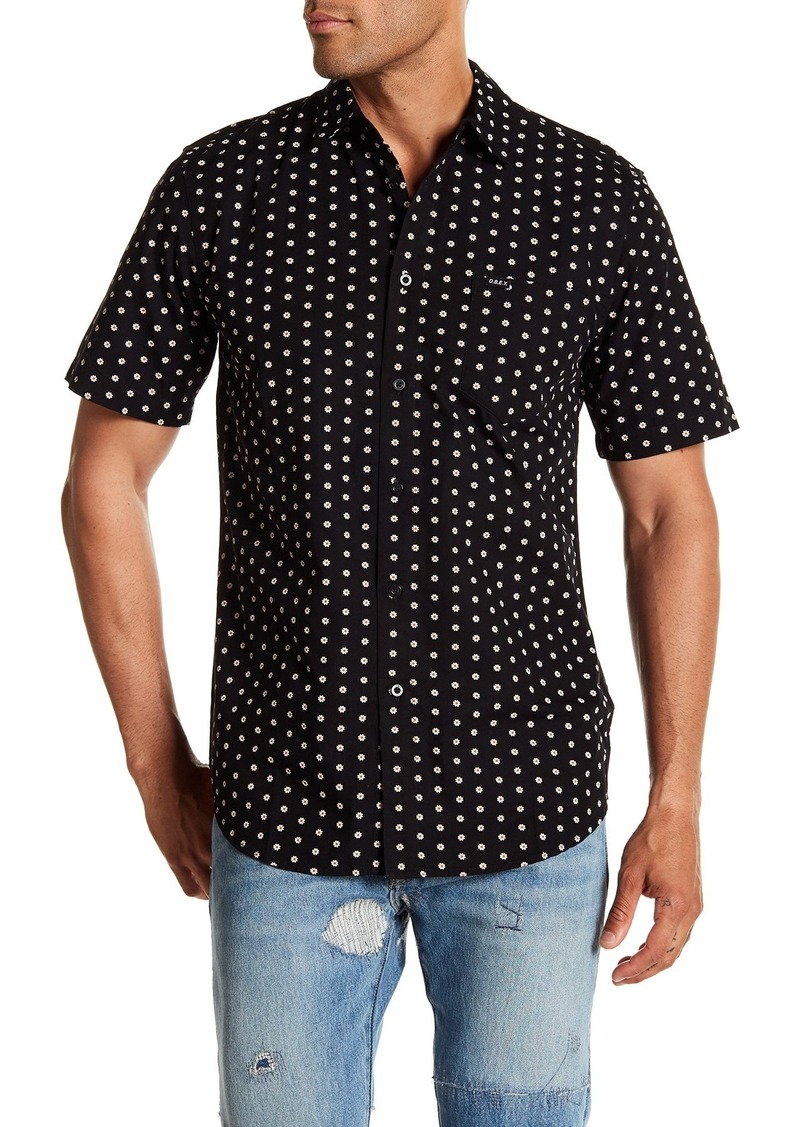 Obey Brighton Short Sleeve Slim Fit Shirt