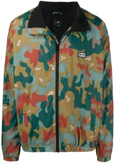 Obey camouflage print jacket