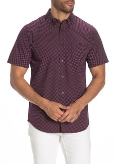 Obey Charlie Printed Woven Slim Fit Shirt