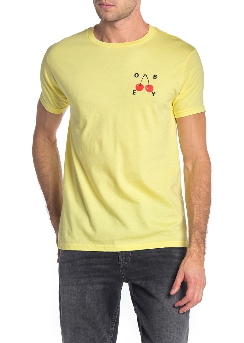 Obey Cherries 2 Graphic T-Shirt