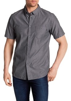 Obey Clement Woven Pinstripe Short Sleeve Regular Fit Shirt