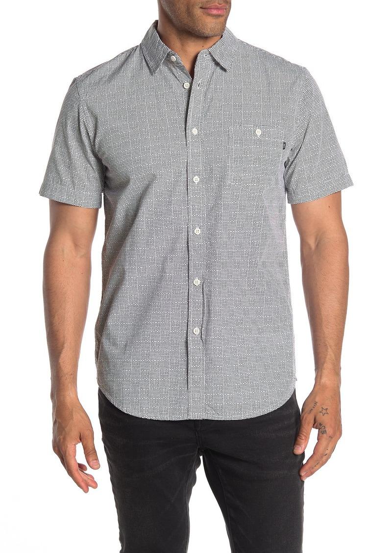 Obey Dakota Short Sleeve Printed Regular Fit Woven Shirt