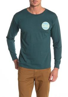 Obey Dissent Propaganda Brand Logo Long Sleeve T-Shirt