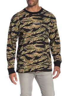 Obey Flight Classic Camo Long Sleeve T-Shirt