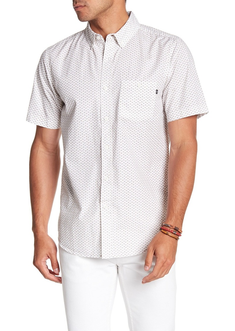 Obey Flinn Printed Woven Slim Fit Shirt