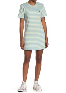 Obey Gazer Striped T-Shirt Dress