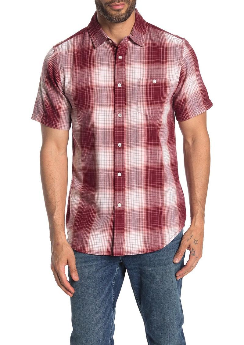 Obey Gloom Plaid Print Slim Fit Shirt