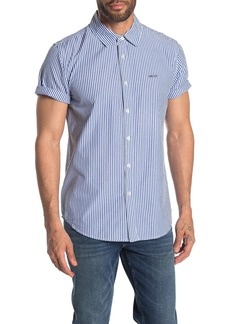 Obey Hester Stripe Slim Fit Shirt