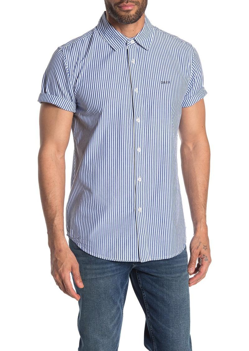 Obey Hester Stripe Slim Fit Shirt
