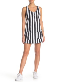Obey Jeanne Striped Shift Dress