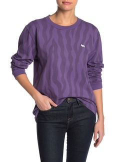 Obey Jumble Lo-Fit Long Sleeve T-Shirt
