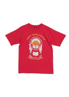 Obey Knowledge Action Graphic Print T-Shirt