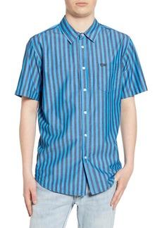 Obey Langston Stripe Woven Shirt
