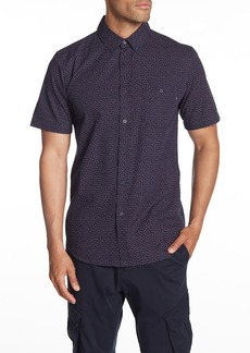 Obey Marc Woven Patterned Short Sleeve Regular Fit Shirt