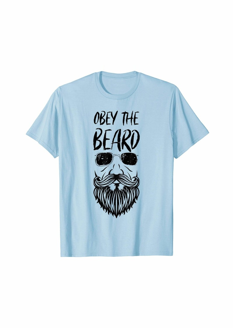 Obey Mens Mens Beard Lover T-Shirt