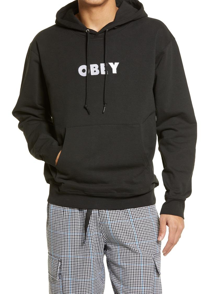 Men's Obey Logo Hoodie
