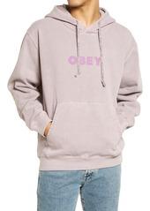 Men's Obey Logo Sustainable Hoodie