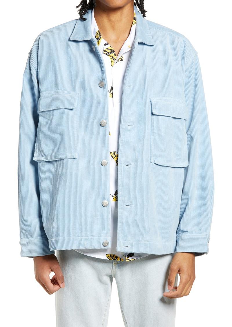 Men's Obey Theo Corduroy Shirt Jacket