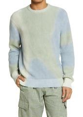 Men's Obey Tie Dye Organic Cotton Sweater